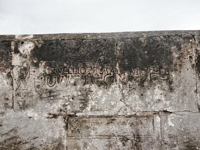 Nassau - Fort Charlotte Graffiti
