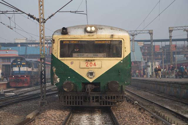 New Delhi Suburban broad gauge EMU