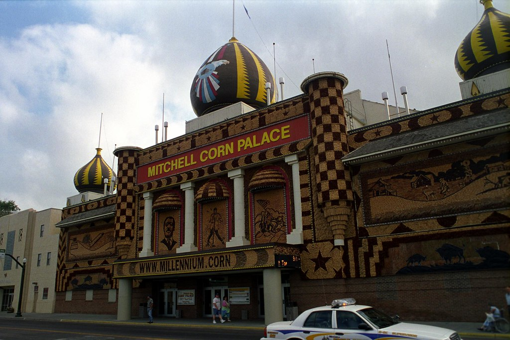 Mitchell Corn Palace | The World's only Corn Palace is in Mi… | Flickr