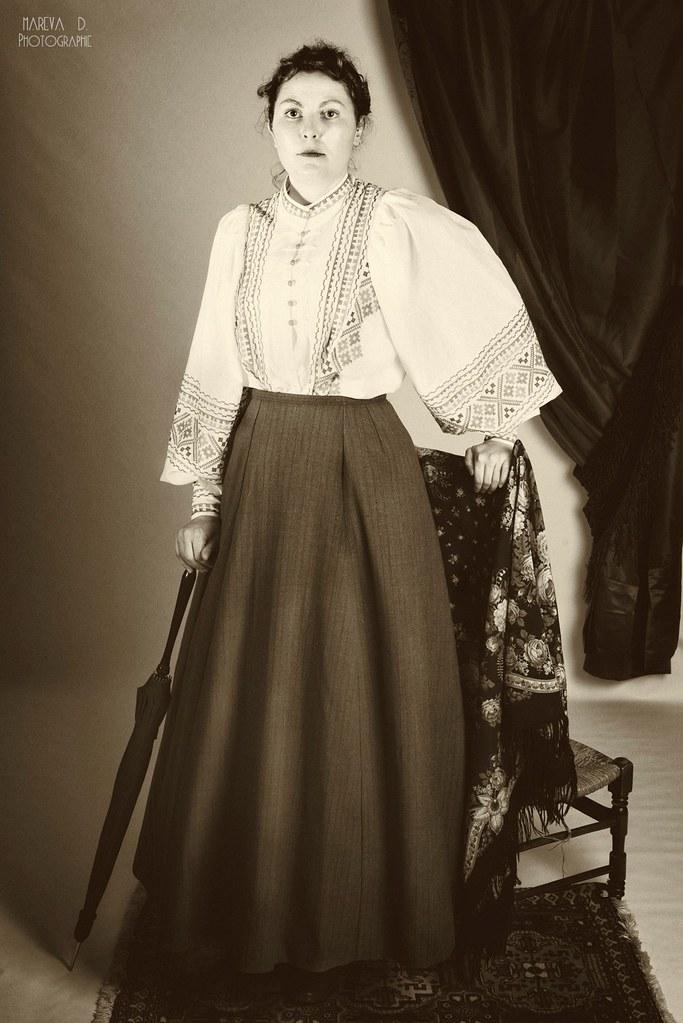 Portrait victorien