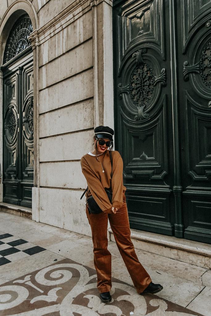 Pantalones De Pana Tendencia 2018 Streetstyle Myblueberryn Flickr