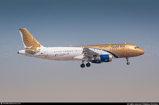 [DXB.2017] #Gulf.AIr #GF #Airbus #A320 #A9C-AJ #awp