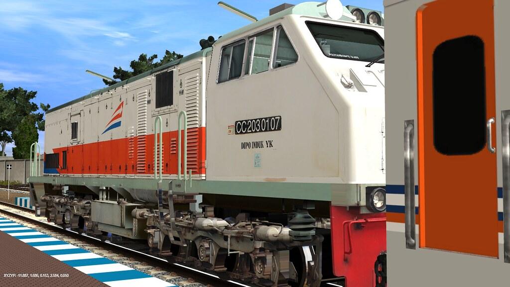 Trainz12 Indonesia - KA Dhoho | Trainz Simulator Indonesia | Flickr