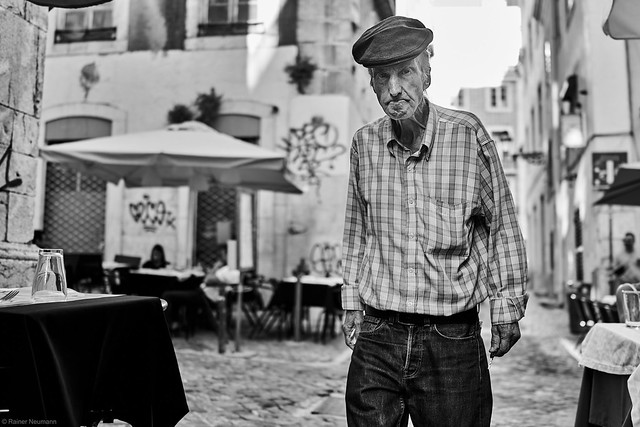 Lissabon Gente de Lisboa 38 bw