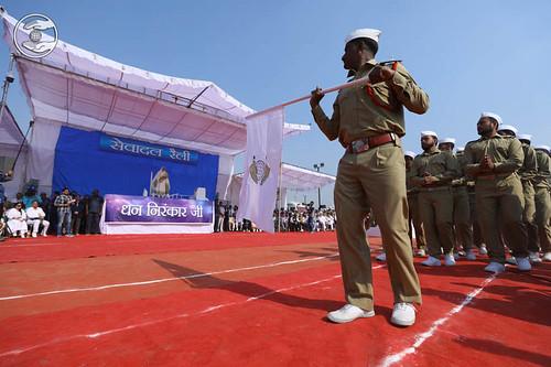 Satguru Prarnam with March Past