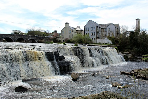 thecascades riverinagh ennistymon countyclare ireland spring waterfalls