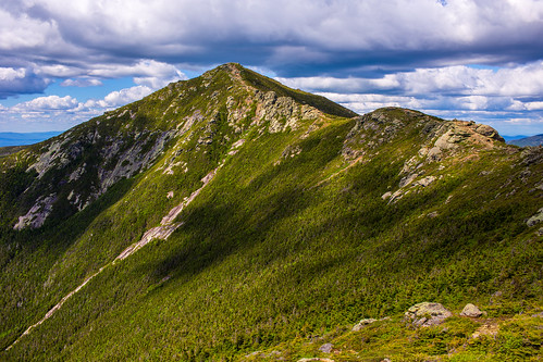 mountlincoln littlehaystack whitemountain nationalforest franconiaridge franconianotch statepark hiking trail mountain rocks forest alpine summit elevation landscape summer park canon 6d newhampshire newengland
