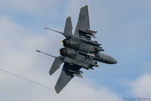 F-15E Strike Eagle 91-0321 - 492nd Fighter Squadron RAF Lakenheath | by stu norris