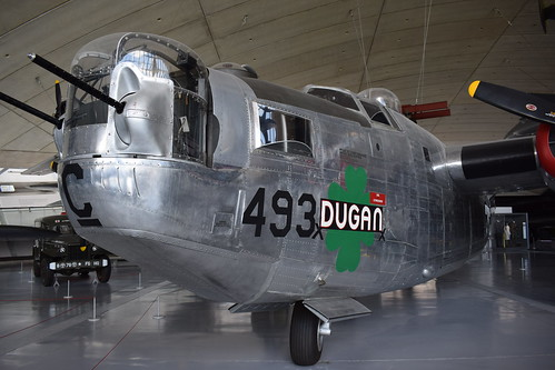 Consolidated B-24M Liberator at the IWM, Duxford