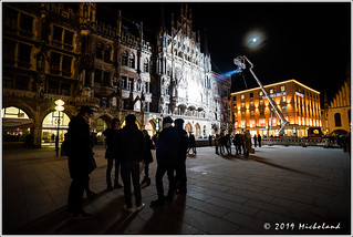 Munich New Town Hall used for a film shooting | by Micholand