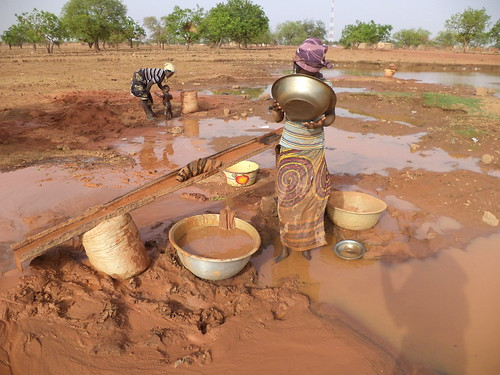 Gold mining, North Burkina Faso