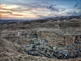 Wadi Qelt in the Judean Desert | by johnrdorazio