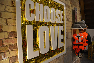 Choose Love - Help Refugees | by Butterfly Art News