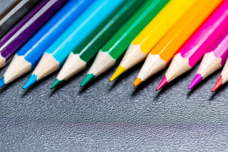 Colored pencils close-up | by wuestenigel
