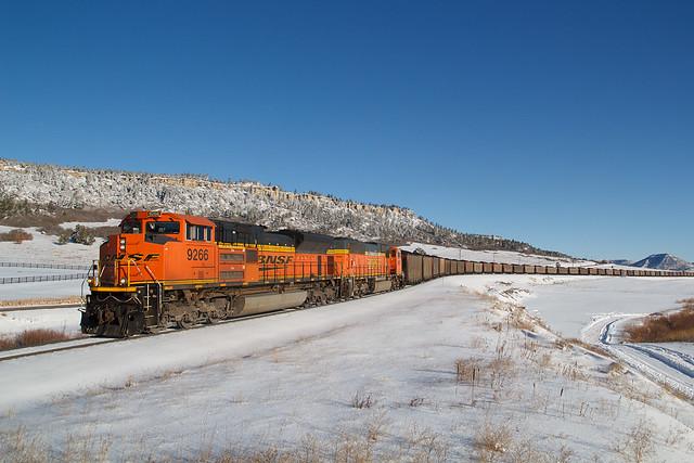 BNSF 9266 Spruce 13 Jan 19