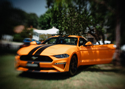 Orange Muscle Car | by Eddy Summers