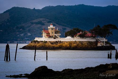 bay california eastbrotherlighthouse governmentbuilding lighthouse richmond sanfranciscobay water