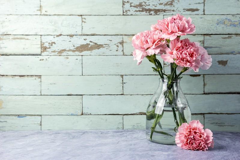 Обои цветы, букет, розовые, pink, flowers, beautiful, гвоздики, carnation картинки на рабочий стол, раздел цветы - скачать