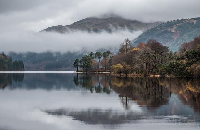 Mist on Loch Eck - Nov 2018