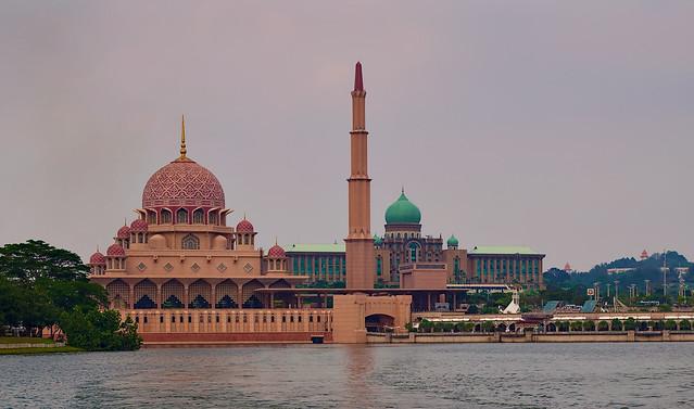 Pink Mosque, Putrajaya, Malaysia