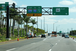 FL84 East at I-595 East Ramp - Exit 2 for FL823 Half Mile