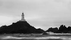 LA CORBIERE in Black & White
