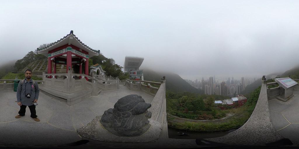 Victoria Peak, Hong Kong, Jan. 7, 2019