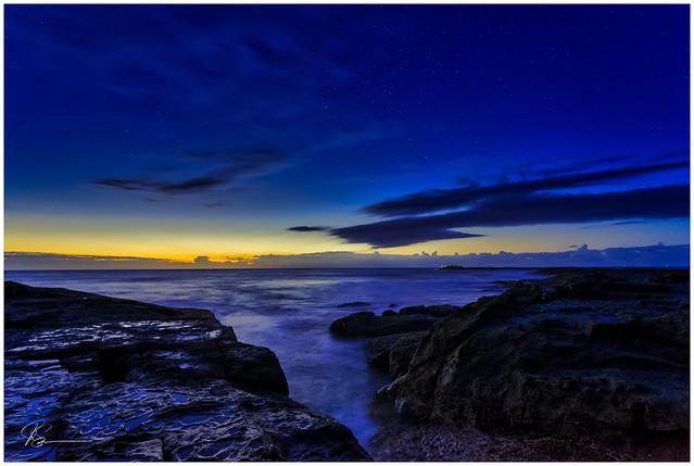 Blackhead Blue Hour...