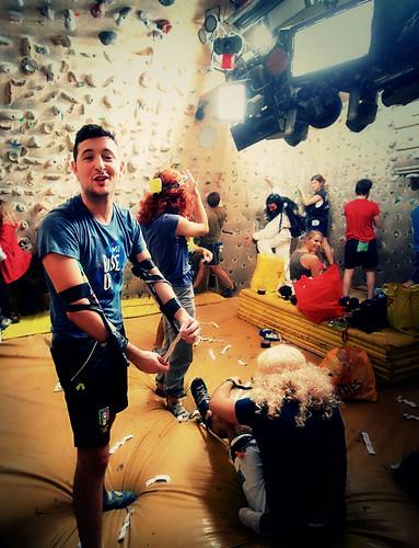 Fantasyclimbing corso di arrampicata il deposito di zio Paperone 10