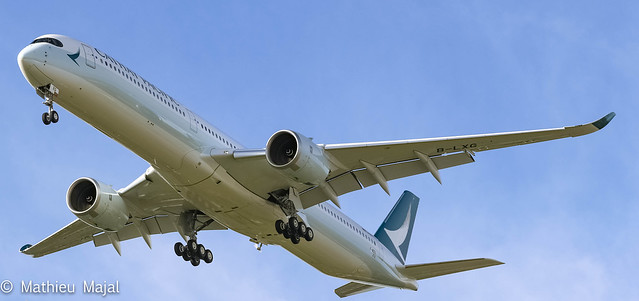 Airbus A350-1000 / Cathay Pacific