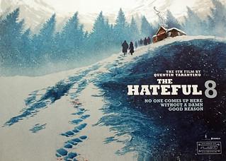 Hateful 8 British Quad Poster