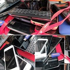 Usual work process, breaking into smartphones :)                        ...