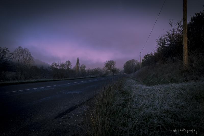 La route - The road