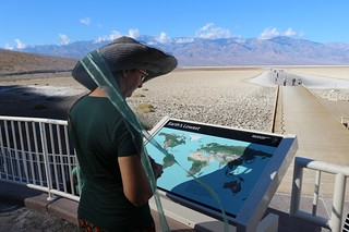 0080 Looking at one of the informative signs at Badwater in Death Valley | by _JFR_