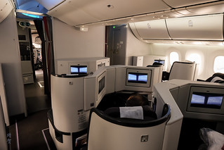 Business Class cabin on the 787 | by A. Wee