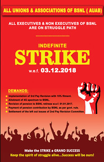 indefinite strike 3-12-2018 | by shajilayam