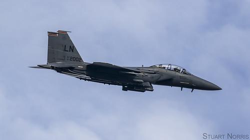 F-15E Strike Eagle 01-2002 - 494th Fighter Squadron RAF Lakenheath | by stu norris