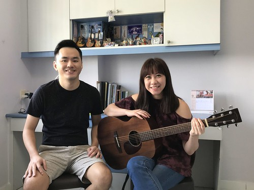 Adult guitar lessons Singapore Ann