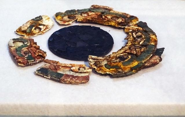 Ofrenda de ceramica y jade Museo de Arqueologia Copan Maya Honduras 03