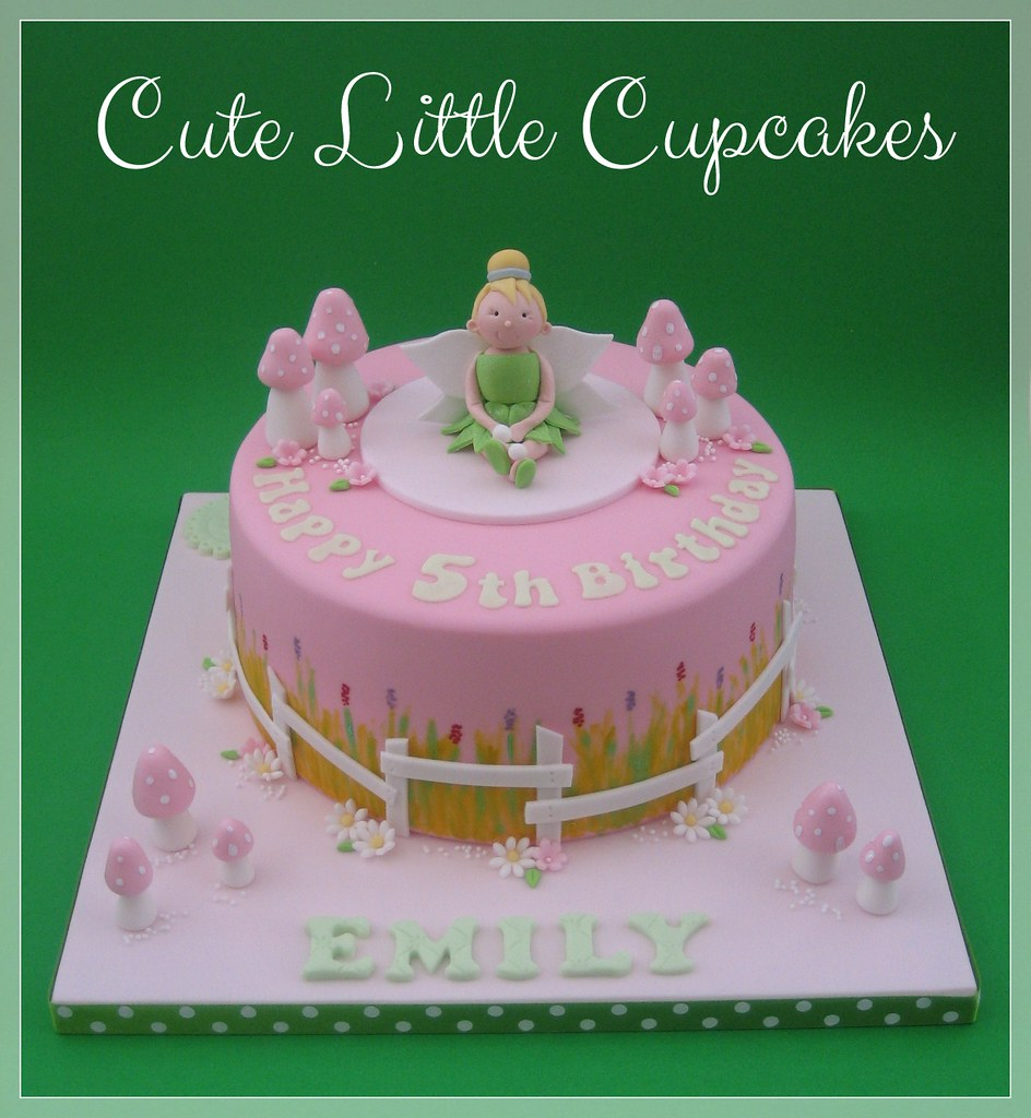 Brilliant Tinkerbell Fairy Birthday Cake Heidi Stone Flickr Personalised Birthday Cards Sponlily Jamesorg