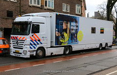Dutch police Mercedes Actros MML
