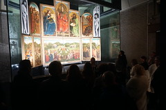 Up close and personal at the Ghent Altarpiece - private visit