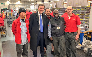 Greg visits Fulham Delivery Office | by Greg Hands