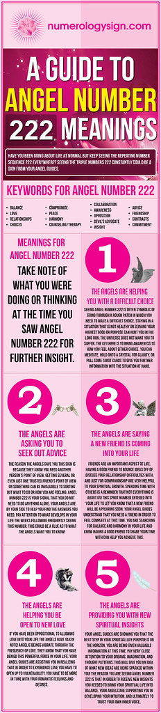 Angel Number 222 Meaning
