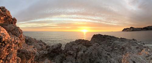 Sunset @ Dance ridge rocks, Dubrovnik