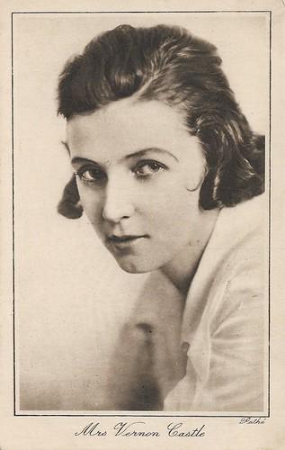 Mrs. Vernon Castle (Irene Castle)