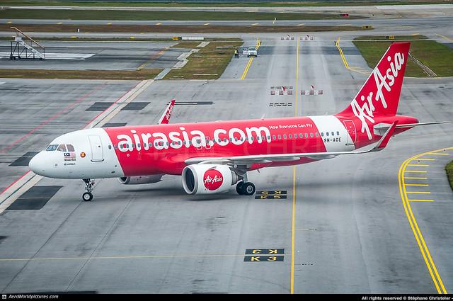 [KUL.2018] #AirAsia #AK #AXM #Airbus #A320Neo #9M-AGE #awp