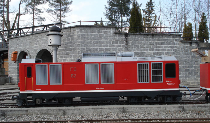 Depot 2010: Einweihung Bergzug