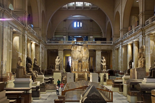 Ägyptisches Museum in Kairo