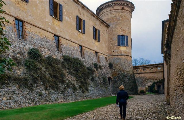 La Castellana e i bastioni di Castello Scipione